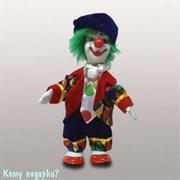"""Фигурка """"Клоун с зелеными волосами"""", h=16 см"""