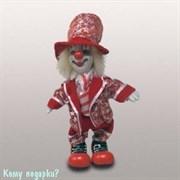 Фигурка «Клоун», h=19 см, красный