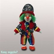"""Фигурка """"Клоун с зелеными волосами"""", h=19 см"""