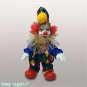 Фигурка «Клоун», h=12 см, разноцветный