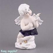 Фигурка «Ангел с голубем», h=19 см