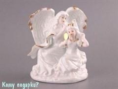 Фигурка «Ангел и девушка», h=16 см
