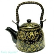 Заварочный чайник, 18х13 см, черный