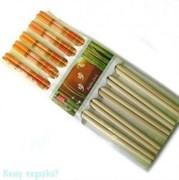 Палочки для еды, 10 пар, 24х10 см
