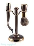 Набор для бритья, 2 предм., бронза, золото