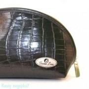 Косметичка, 175x87x110 мм, черная
