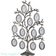 Фоторамка-дерево на 12 фото, h=30 см, 002
