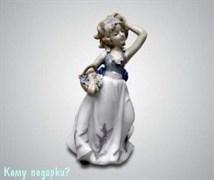 Статуэтка «Девочка с корзинкой», 19 см