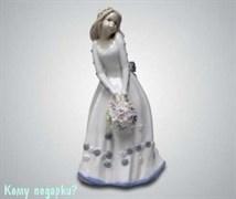 Статуэтка «Девочка с букетом», 21,5 см