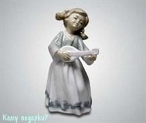 Статуэтка «Девочка с домброй», 13 см