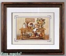 """Панно 3D """"На кухне"""", 46х57 см"""