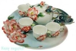 Подарочный набор для чайной церемонии «Райская птица»