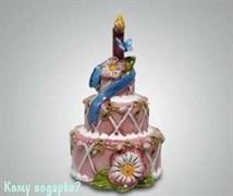 Подсвечник «Торт»
