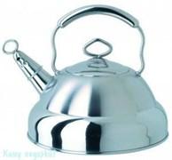 Чайник с металлической ручкой и свистком, Regent Inox, 93-2505