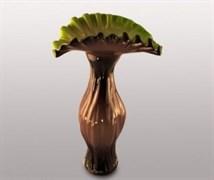 Стеклянная ваза, h=49 см