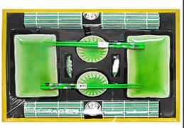 Набор для суши на 2 персоны, зеленый