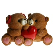 Копилка Влюбленные медвежата 25х14х14см