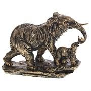 Фигура декоративная Слон со слонёнкомL29W12H21см