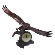 Часы настольные Орел расправил крылья цвет: медь L30W66.5H56 см
