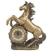 Часы настольные Конь цвет: золото L39W17H51 см