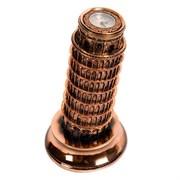 Часы настольные Пизанская башня L14.5W14.5H26.5 см