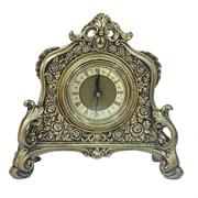 Часы настольные цвет: золото L21W6.5H19 см