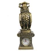 Часы настольные Сова-магистр L10.5W8.5H31 см