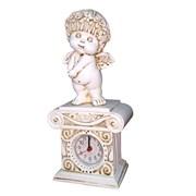 Часы настольные Ангел цвет: антик Н25.5 см