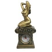 Часы настольные Девушка L11.5W8.5H26 см