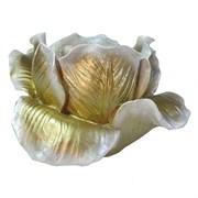 Подсвечник Тюльпан цвет: золото L11W11H7 см