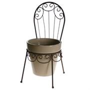 Подставка для цветов стульчик кашпо 16х16х30.5см