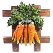 Изделие декоративное Полотенцедержатель Морковь W27H27