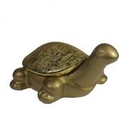 Шкатулка для украшений Черепаха цвет: золото L8.5W13H12.5 см