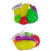 Набор игрушек из 8-ми предметов Фрукты/Овощи 7708231