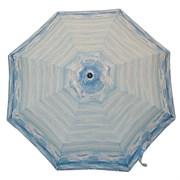 Зонт полный автомат Aбстракция голубая