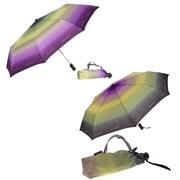 Зонт полный автомат цвет: Фиолетовый с салатовым