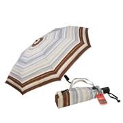 Зонт полный автомат Aбстракция серо-коричневая