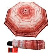 Зонт полный автомат Aбстракция бордовая