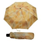 Зонт полный автомат Aбстракция Бежевая