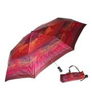 Зонт полный автомат Атласный Перья