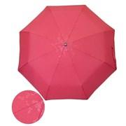 Зонт полный автомат Темно-красный с глянцевым рисунком