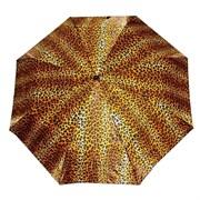 Зонт полный автомат Атласный Леопард