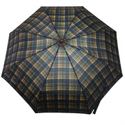 Зонт полный автомат Шотландка темная