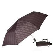 Зонт полный автомат цвет: Бордово-розовая полоска