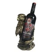 Подставка под бутылку Орел цвет: золото L16.5W15H26 см