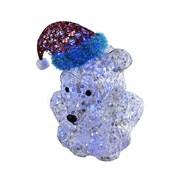 Фигурка декоративная Мишка на светодиодах 100Lumen H56см