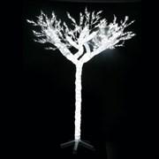 Дерево декоративное уличное 2000 белых светодиодов H260см