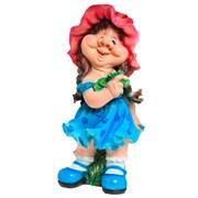 Фигура садовая Девочка кокетка H72 см.