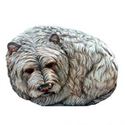 Камень декоративный Собачка Люсси L50W40H29 см.