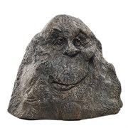 Камень рожица садовый декоративный H30 см.